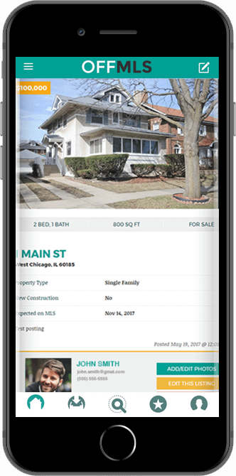 offMLS Real Estate App